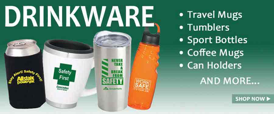 Drinkware Category Banner