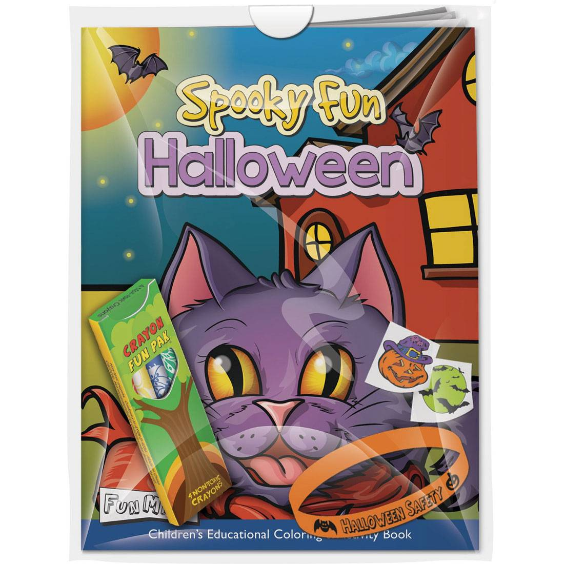 Fun Products :: Halloween Coloring Book, Crayons & More