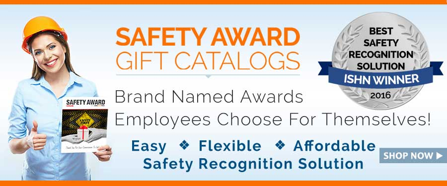 Safety Award Gift Catalogs