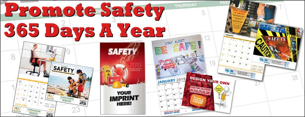 Calendars with Safety Themes