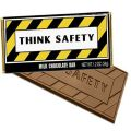 AD010299 Think Safety Chocolate Bar