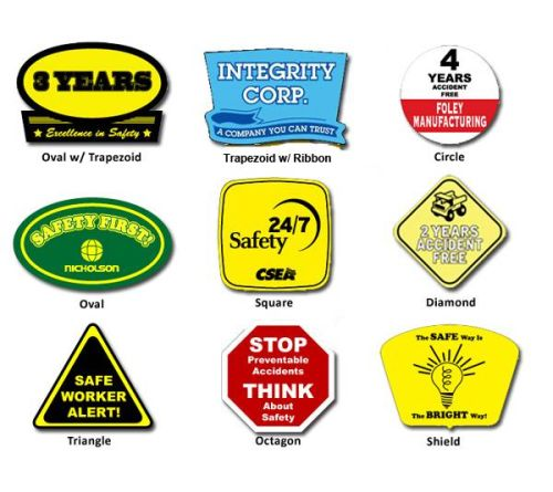Hard Hat Stickers