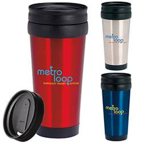 15 oz Stainless Travel Mug