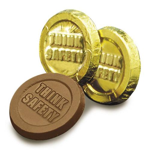 Think Safety Chocolate Coins