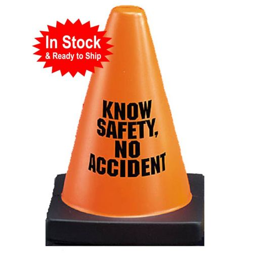 KNOW SAFETY Traffic Cone Stress Reliever