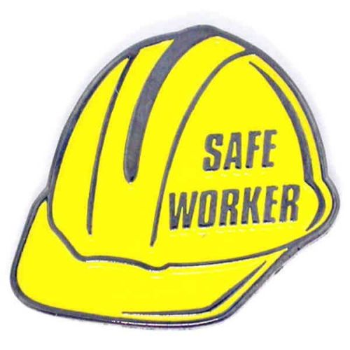 Safe Worker - Lapel Pin