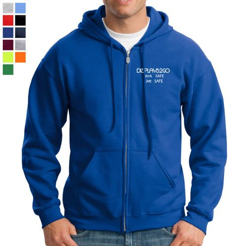 Gildan® Heavyweight Full-Zip Hooded Sweatshirt