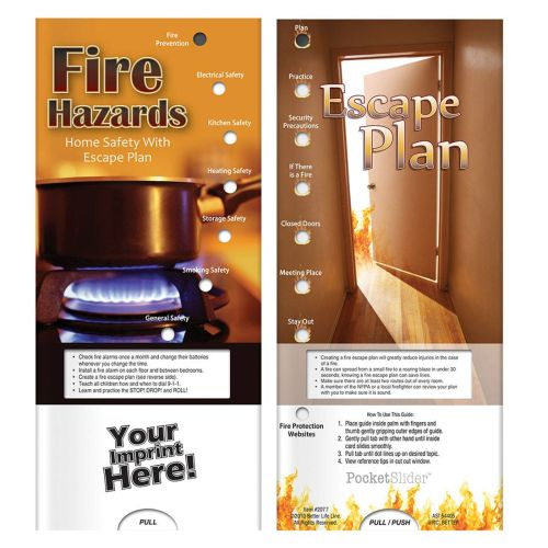 Fire & Home Safety Slide Chart