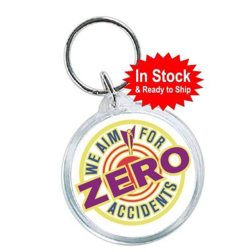 AD010885SZero Accidents Key Tags