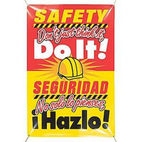 Safety Don't Just Think... (Bilingual)