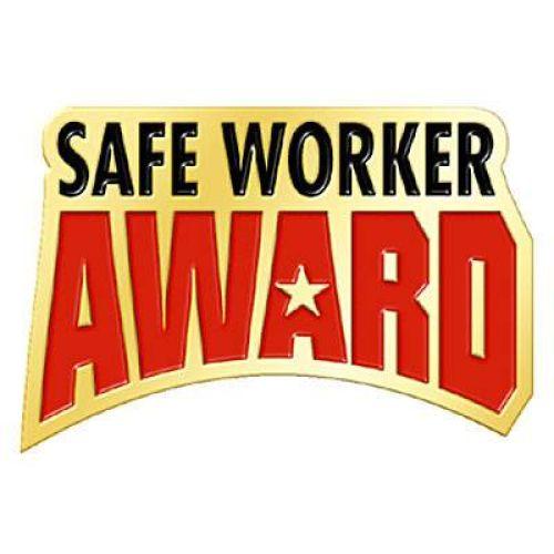 Safe Worker Award - Lapel Pin