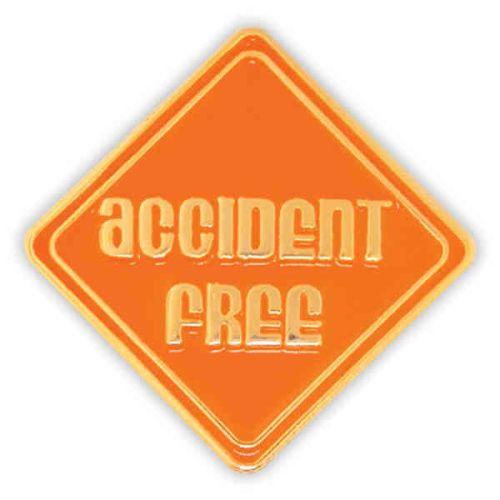 AD010964-C Accident Free - Lapel Pin