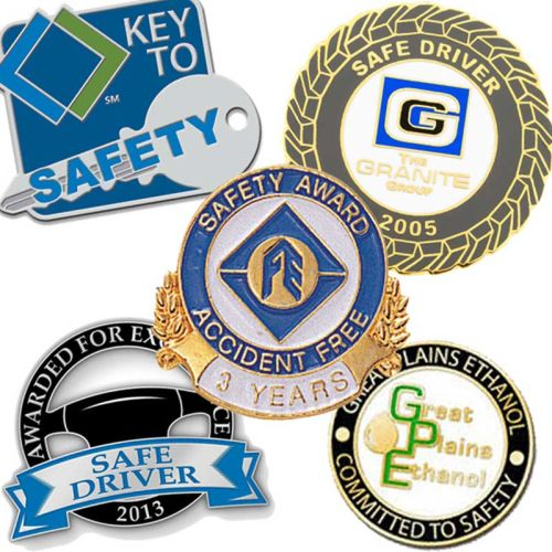 AD011017 Custom Lapel Pins to Recognize Employee Safety