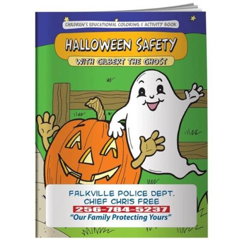 AD011135 Halloween SAFETY Coloring & Activity  Book