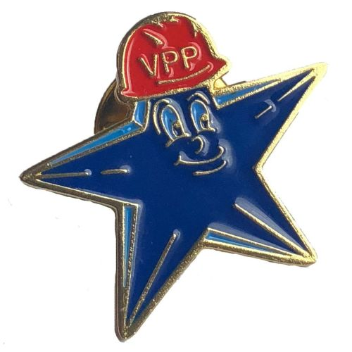 VPP Star Mascot Lapel Pin