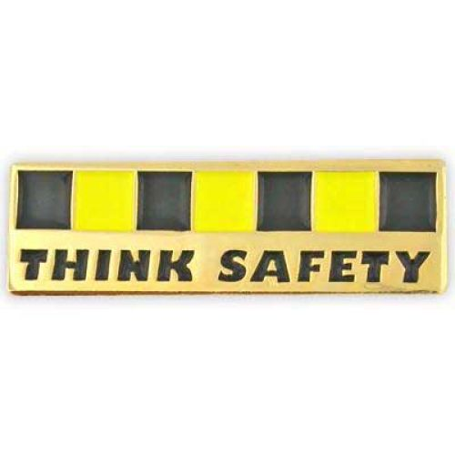Think Safety-  Lapel Pin