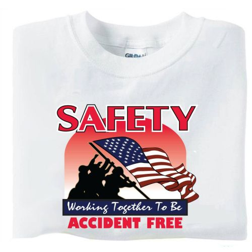 AD011482 Safety-Accident Free-  T-Shirt