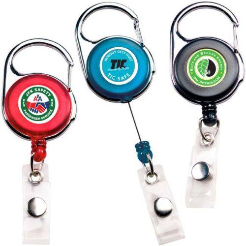 Badgeholder w/ Carabiner Clip