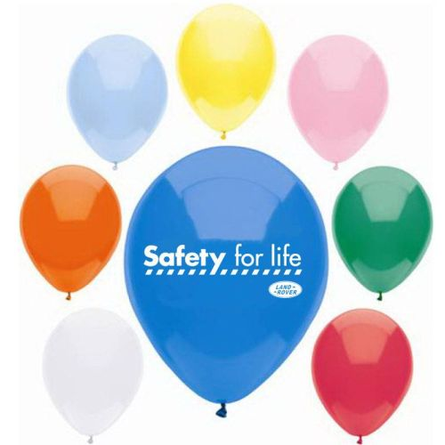 "9""  Safety Celebration Balloons"