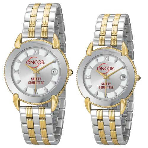 AD011745 2-Tone Stainless Steel Bracelet Watch