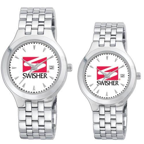 AD011747 Brass Bracelet Watch w/ Calendar