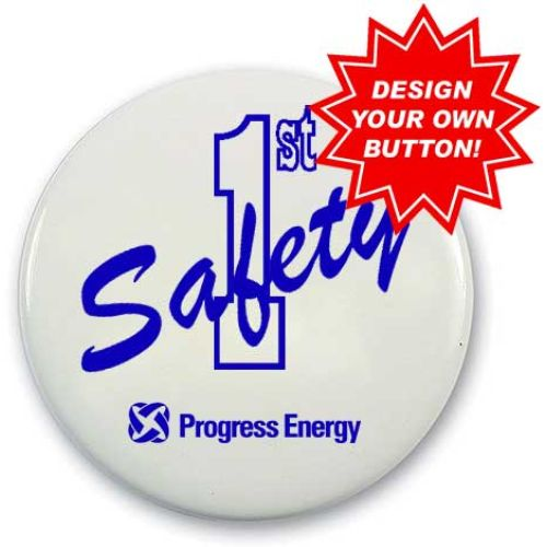 """2-1/4""""  Buttons to Promote Safety"""