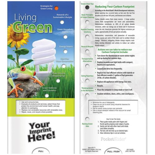 AD011929 Living Green Slide Chart