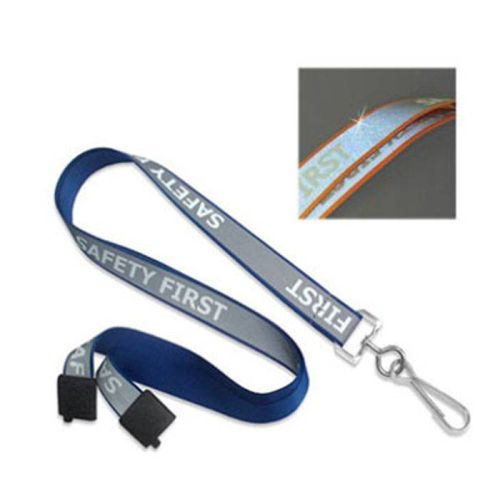 """5/8"""" SAFETY FIRST Reflective Lanyard"""