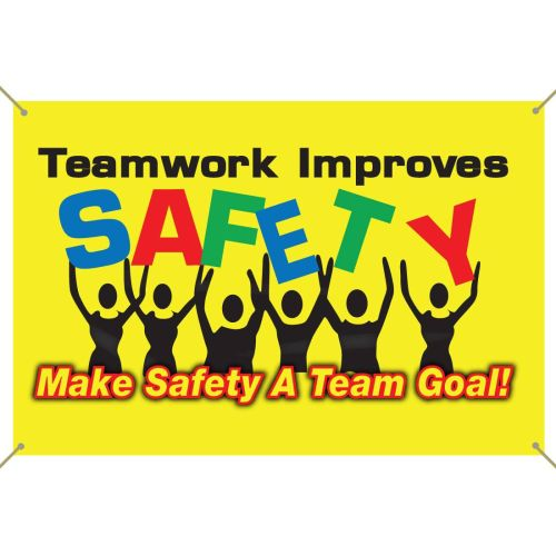 AD0122428 Teamwork Improves Safety Banner