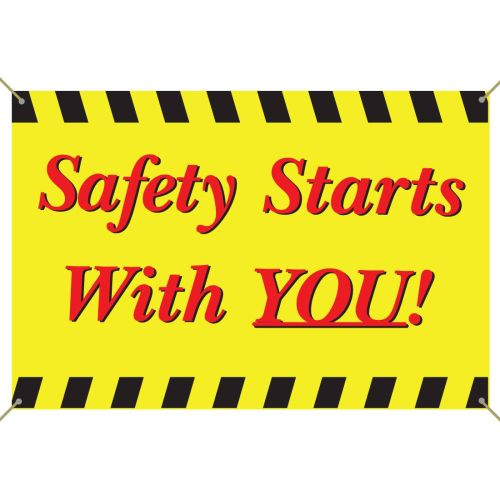 AD0122429 Safety Starts With You! Banner