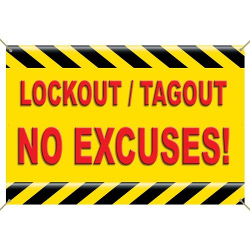 Lockout / Tagout Banner