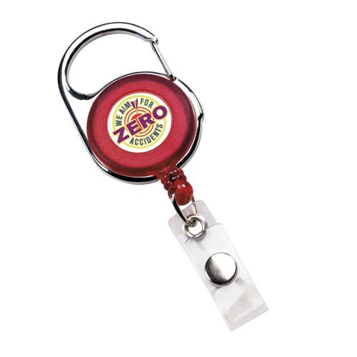 """Zero Accidents""  Badge Holder"