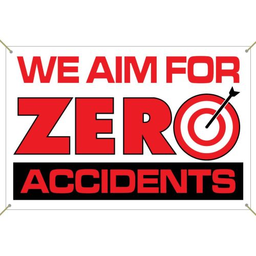 Zero Accidents Banner