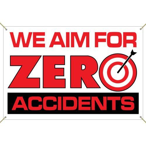 Zero Accidents Banner