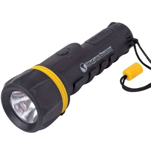 AD012650 Rubberized Flashlight