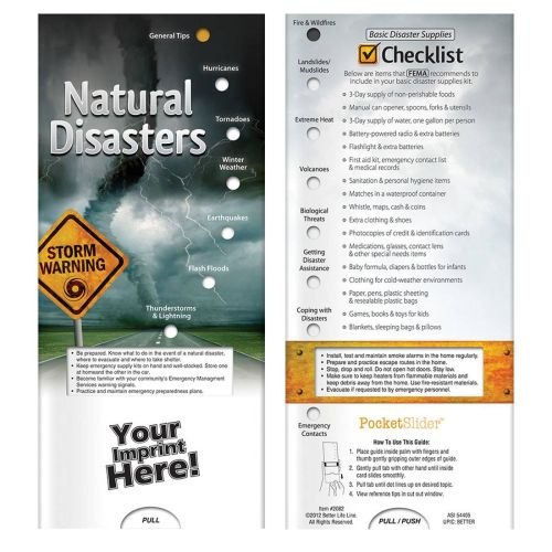 Natural Disasters Slide Chart
