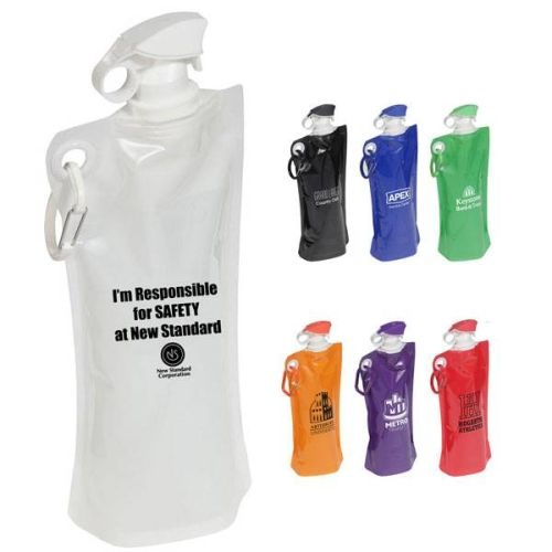 AD013079Flip Top Folding Water Bottle