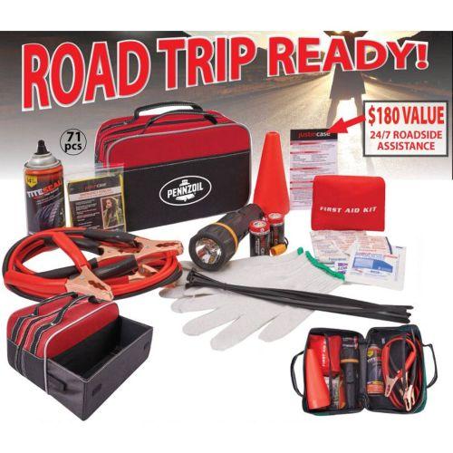 Roadside Emergency Kit- 70 Piece