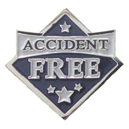AD013231S Accident Free-  Lapel Pin