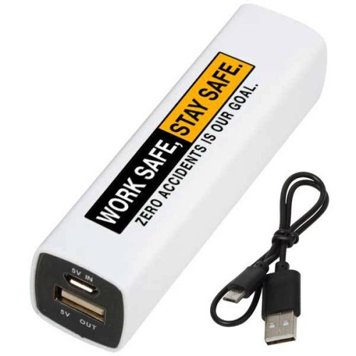 "NS013281""WORK SAFE"" Power Pack/Phone Charger 2200mAh"