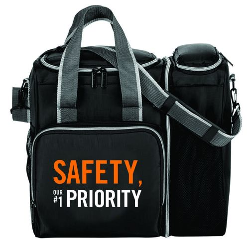 """SAFETY OUR  #1 PRIORITY"" - 2-in-1 Cooler"