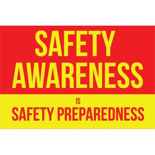 Safety Awareness Banner