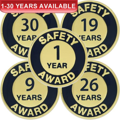 1-30 Years Safety Award - Lapel Pin