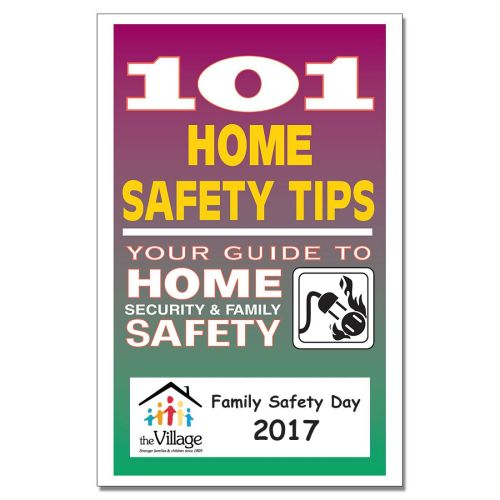 101 Home Safety Tips Booklet