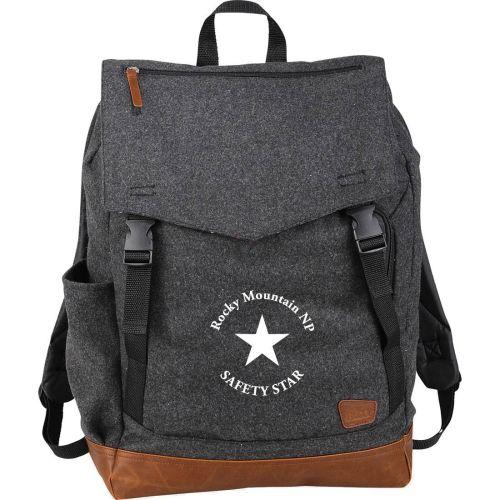 "AD013757 Field & Co® Wool 15"" Rucksack Backpack"