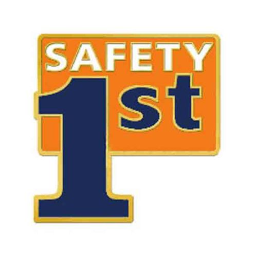 Safety 1st - Lapel Pin