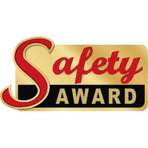 Safety Award - Lapel Pin