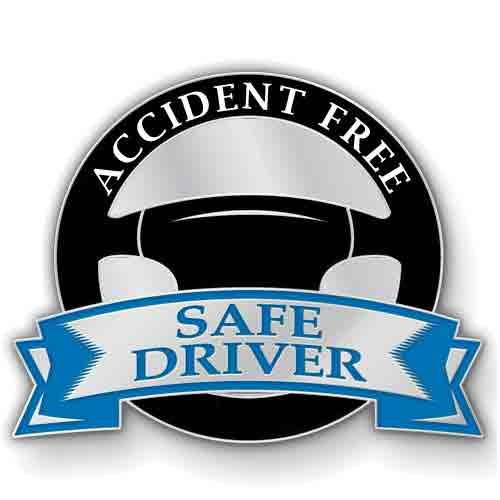 AD013817 Safe Driver - Lapel Pin
