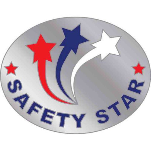 Safety Star - Lapel PIn