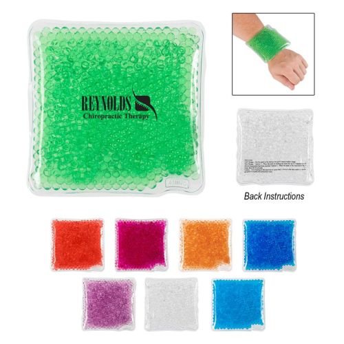 Square Gel Bead Hot / Cold Pack